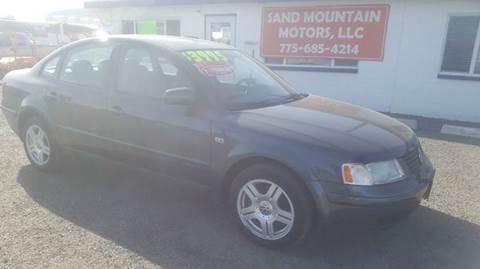 2000 Volkswagen Passat for sale at Sand Mountain Motors in Fallon NV