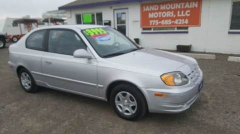 2004 Hyundai Accent for sale at Sand Mountain Motors in Fallon NV
