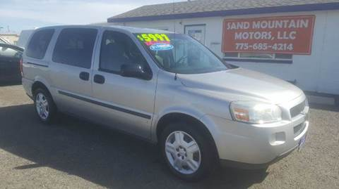 2008 Chevrolet Uplander for sale at Sand Mountain Motors in Fallon NV