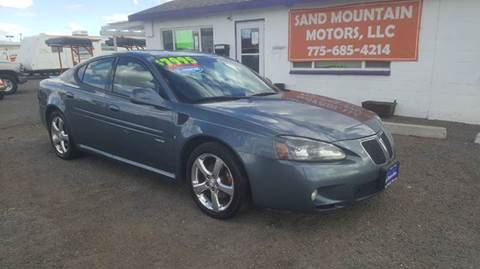 2007 Pontiac Grand Prix for sale at Sand Mountain Motors in Fallon NV