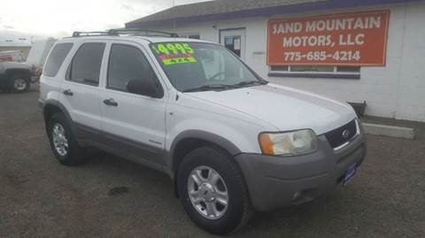 2001 Ford Escape for sale at Sand Mountain Motors in Fallon NV