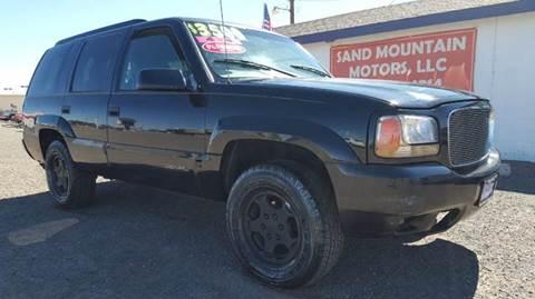 1999 GMC Yukon for sale at Sand Mountain Motors in Fallon NV