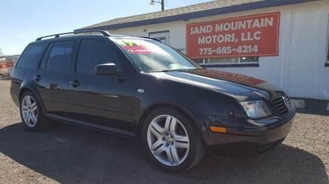 2002 Volkswagen Jetta for sale at Sand Mountain Motors in Fallon NV