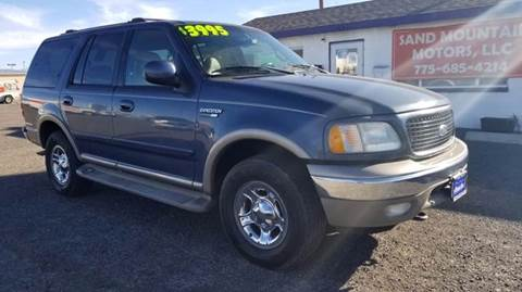 2000 Ford Expedition for sale at Sand Mountain Motors in Fallon NV