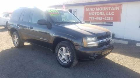 2004 Chevrolet TrailBlazer for sale at Sand Mountain Motors in Fallon NV