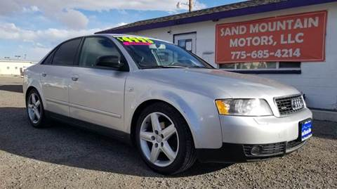 2004 Audi A4 for sale at Sand Mountain Motors in Fallon NV