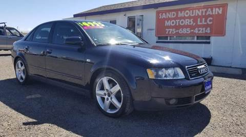 2003 Audi A4 for sale at Sand Mountain Motors in Fallon NV