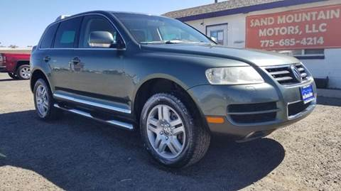 2004 Volkswagen Touareg for sale at Sand Mountain Motors in Fallon NV