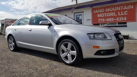 2008 Audi A6 for sale at Sand Mountain Motors in Fallon NV