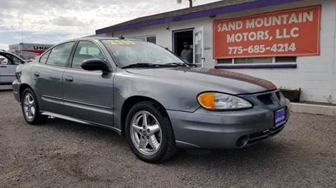 2003 Pontiac Grand Am for sale at Sand Mountain Motors in Fallon NV