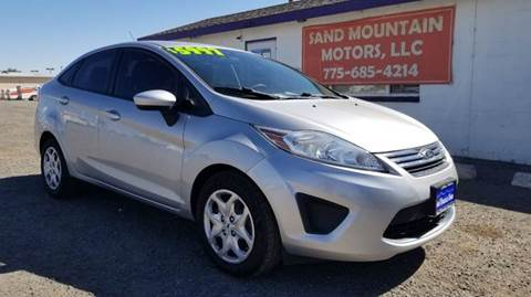 2012 Ford Fiesta for sale at Sand Mountain Motors in Fallon NV