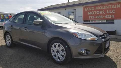 2012 Ford Focus for sale at Sand Mountain Motors in Fallon NV