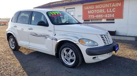 2001 Chrysler PT Cruiser for sale at Sand Mountain Motors in Fallon NV