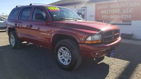 1999 Dodge Durango for sale at Sand Mountain Motors in Fallon NV
