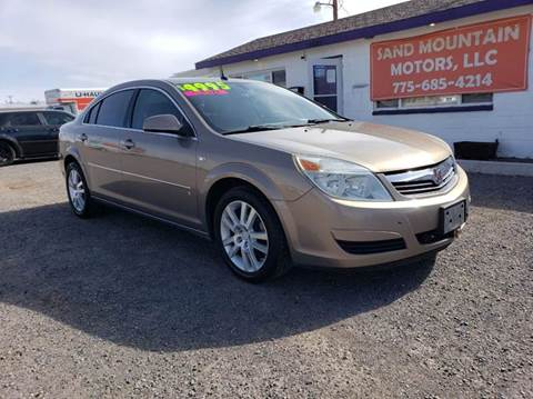2007 Saturn Aura for sale at Sand Mountain Motors in Fallon NV