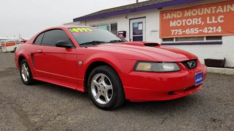 2004 Ford Mustang for sale at Sand Mountain Motors in Fallon NV