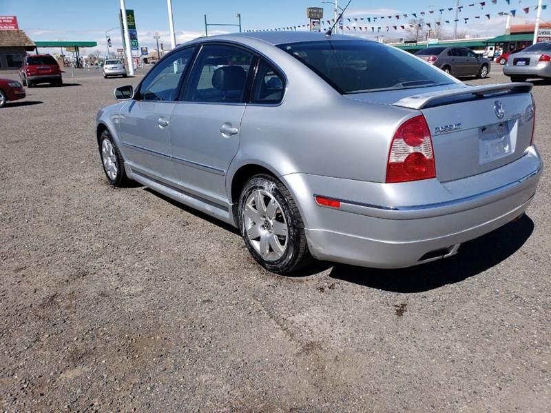 2001 Volkswagen Passat GLX V6 New 4dr Sedan In Fallon NV ...