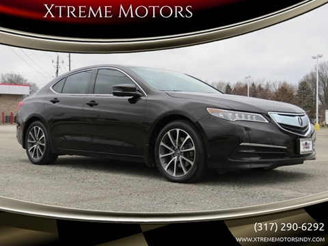2015 Acura TLX for sale at Xtreme Motors Inc. in Indianapolis IN