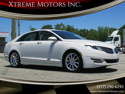 2015 Lincoln MKZ for sale at Xtreme Motors Inc. in Indianapolis IN