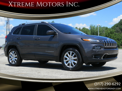 2014 Jeep Cherokee for sale at Xtreme Motors Inc. in Indianapolis IN