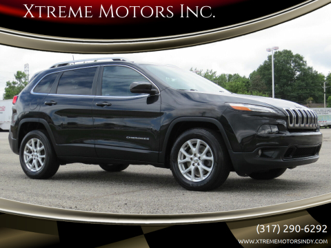 2016 Jeep Cherokee for sale at Xtreme Motors Inc. in Indianapolis IN