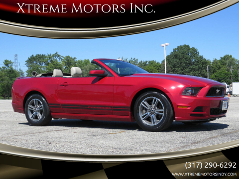 2013 Ford Mustang for sale at Xtreme Motors Inc. in Indianapolis IN