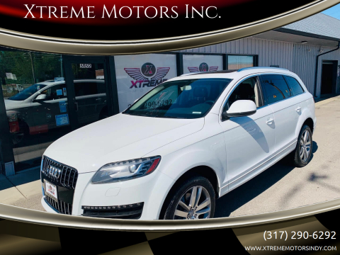 2015 Audi Q7 for sale at Xtreme Motors Inc. in Indianapolis IN