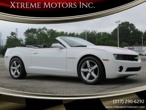 2012 Chevrolet Camaro for sale at Xtreme Motors Inc. in Indianapolis IN