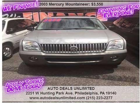2003 Mercury Mountaineer