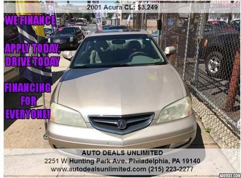 2001 Acura CL for sale in Philadelphia, PA
