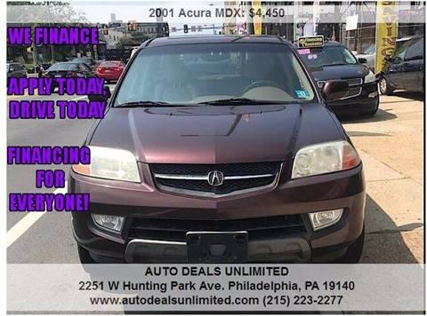2001 Acura MDX for sale in Philadelphia, PA
