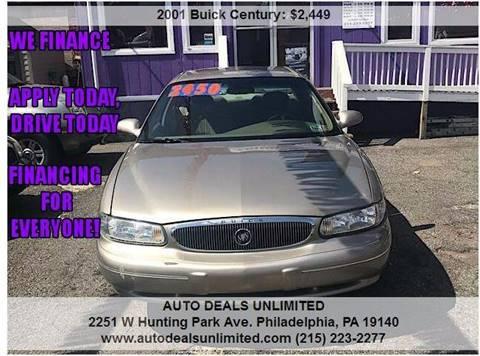 2001 Buick Century for sale in Philadelphia, PA