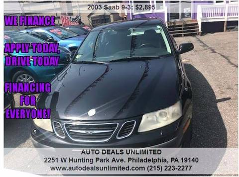 2003 Saab 9-3 for sale in Philadelphia, PA