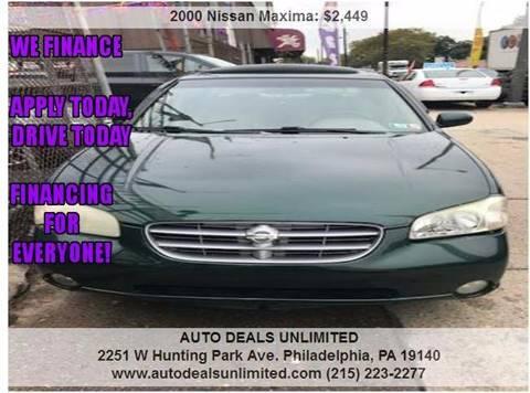 2000 Nissan Maxima for sale in Philadelphia, PA