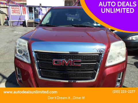 2012 GMC Terrain for sale at AUTO DEALS UNLIMITED in Philadelphia PA