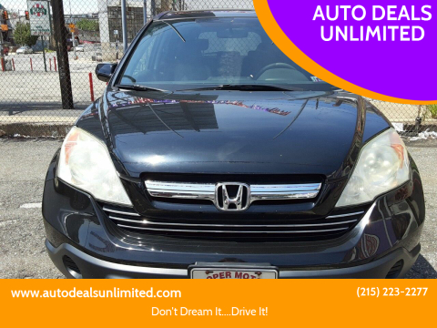 2009 Honda CR-V for sale at AUTO DEALS UNLIMITED in Philadelphia PA