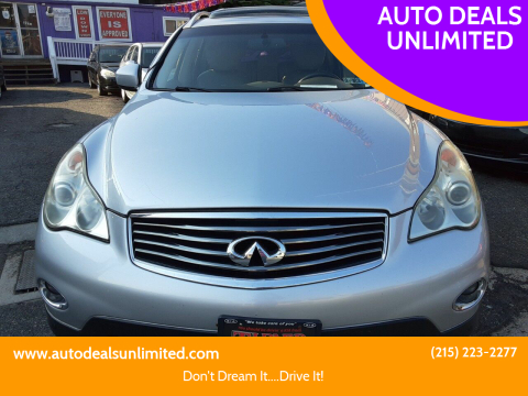 2008 Infiniti EX35 for sale at AUTO DEALS UNLIMITED in Philadelphia PA