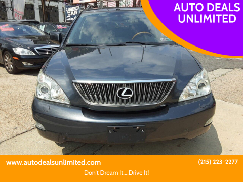 2004 Lexus RX 330 for sale at AUTO DEALS UNLIMITED in Philadelphia PA