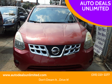 2012 Nissan Rogue for sale at AUTO DEALS UNLIMITED in Philadelphia PA