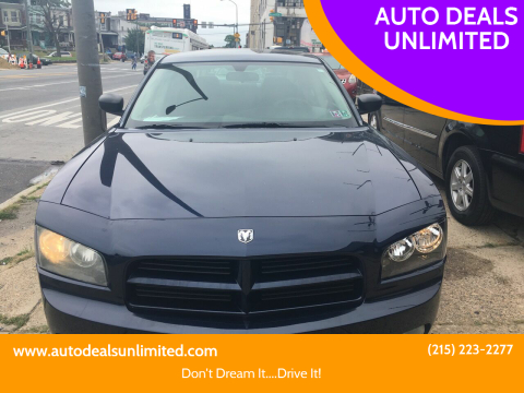 2006 Dodge Charger for sale at AUTO DEALS UNLIMITED in Philadelphia PA