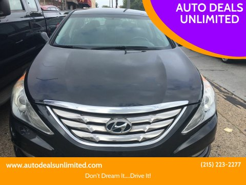 2012 Hyundai Sonata for sale at AUTO DEALS UNLIMITED in Philadelphia PA