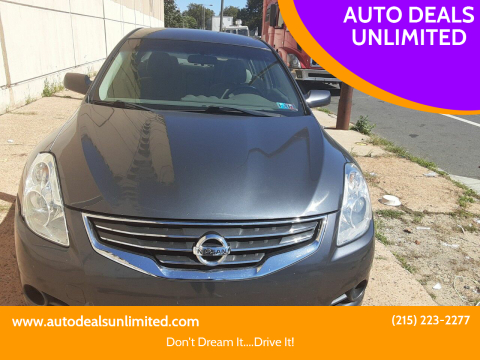 2010 Nissan Altima for sale at AUTO DEALS UNLIMITED in Philadelphia PA