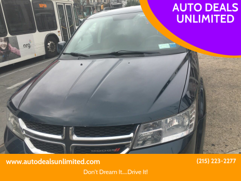 2014 Dodge Journey for sale at AUTO DEALS UNLIMITED in Philadelphia PA