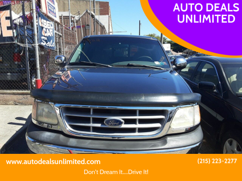 2000 Ford F-150 for sale at AUTO DEALS UNLIMITED in Philadelphia PA
