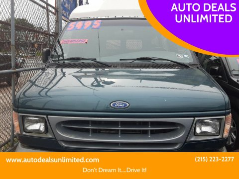 1997 Ford E-350 for sale at AUTO DEALS UNLIMITED in Philadelphia PA