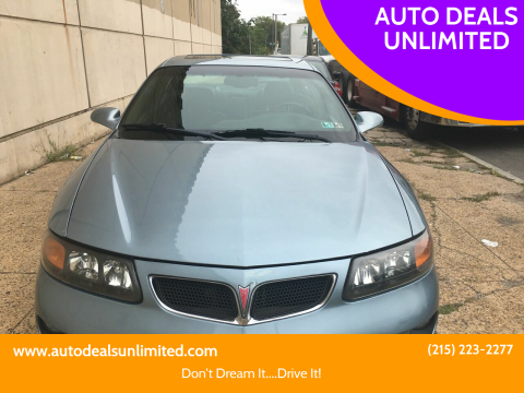 2003 Pontiac Bonneville for sale at AUTO DEALS UNLIMITED in Philadelphia PA
