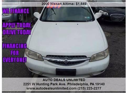 2000 Nissan Altima for sale in Philadelphia, PA
