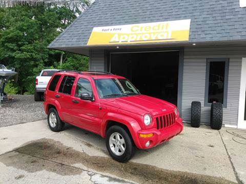2003 Jeep Liberty for sale at Kevin Lapp Motors in Plymouth MI