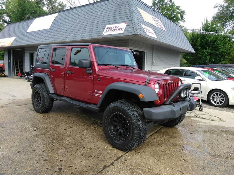 2012 Jeep Wrangler Unlimited for sale at Kevin Lapp Motors in Flat Rock MI