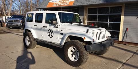 2012 Jeep Wrangler Unlimited for sale in Flat Rock, MI